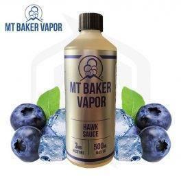 MT BAKER VAPOR - Hawk Sauce E Juice 240ml ام تي بيكر - هوك صوص