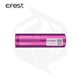 EFEST - 18650 3000mAh Battery ايفيست - ١٨٦٥٠ بقوة ٣٠٠٠ مل امبير
