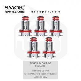 SMOK - 0.6 ohm RPM Triple Coils سموك - ار بي ام ٠.٦ اوم كويلات